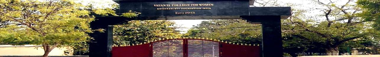 Vasanta College For Women, Varanasi