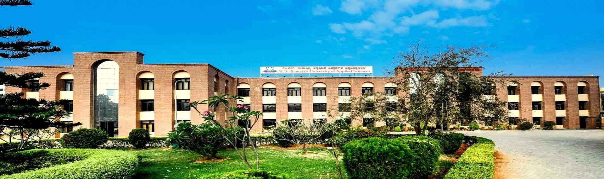 M.S. Ramaiah University of Applied Sciences - [MSRUAS]