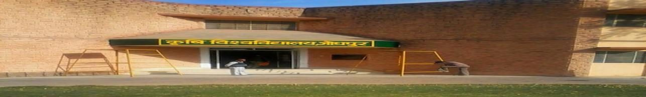 Agriculture University - [AU], Jodhpur