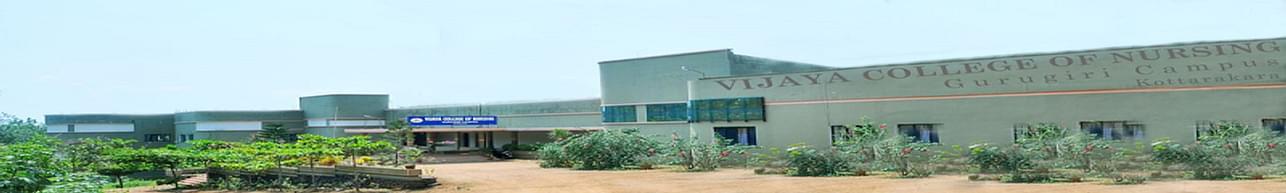 Vijaya College of Nursing - [VCN], Kottarakara