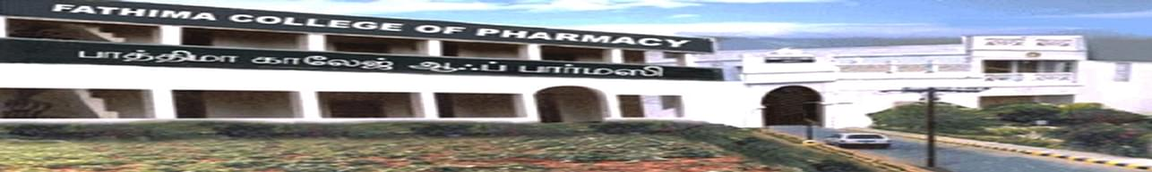 Fathima College Of Pharmacy Kadayanallur, Tirunelveli