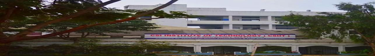 Church of South India Institute of Technology -  [CSIIT], Secunderabad