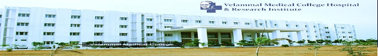 Velammal Medical College And Hospital Research Institute  [VMCHRI], Madurai