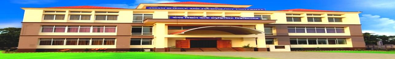 Assam Science and Technology University - [ASTU], Guwahati - Course & Fees Details