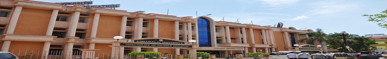 Annamalai University, Directorate of Distance Education - [AUDDE], Cuddalore