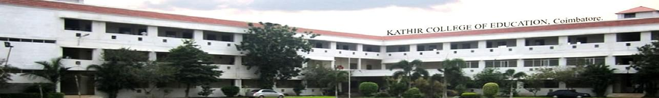 Kathir College of Education, Coimbatore