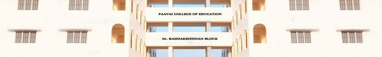 Paavai College of Education, Namakkal