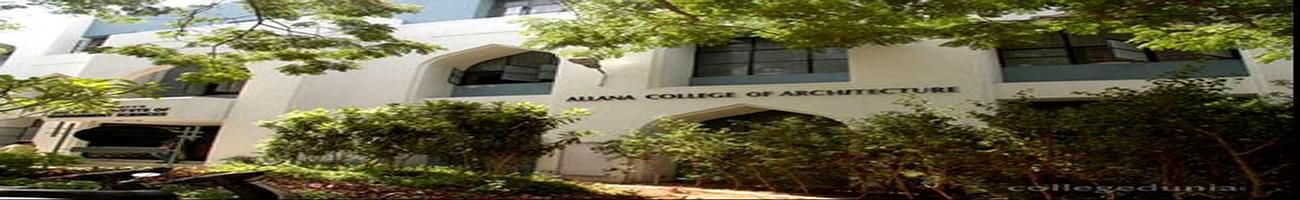MCE Society's Allana College of Architecture, Pune
