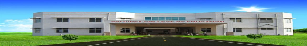 Sri Vidya College of Education, Virudhunagar