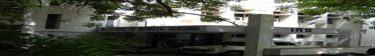 Institute of Remote Sensing, Anna University - [IRS], Chennai