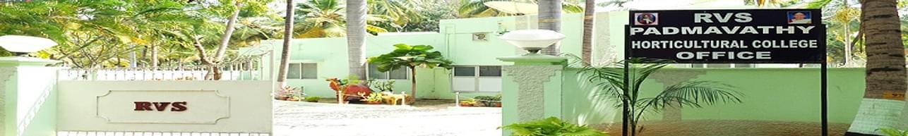 RVS Padmavathy College of Horticulture, Dindigul