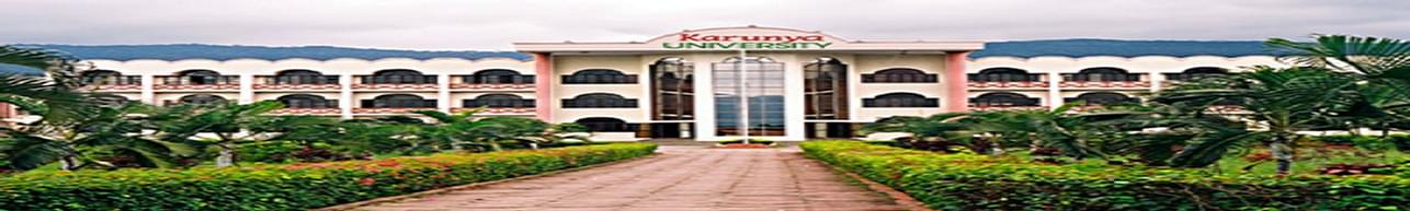 Karunya School of Management, Karunya University - [KSM], Coimbatore