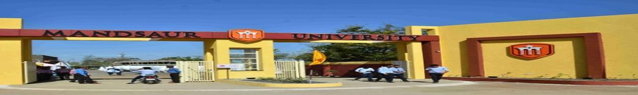 Mandsaur University - [MU], Mandsaur