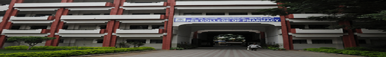 PES College of Pharmacy - [PESCP], Bangalore