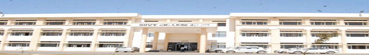 Government Postgraduate College, Jind - Course & Fees Details