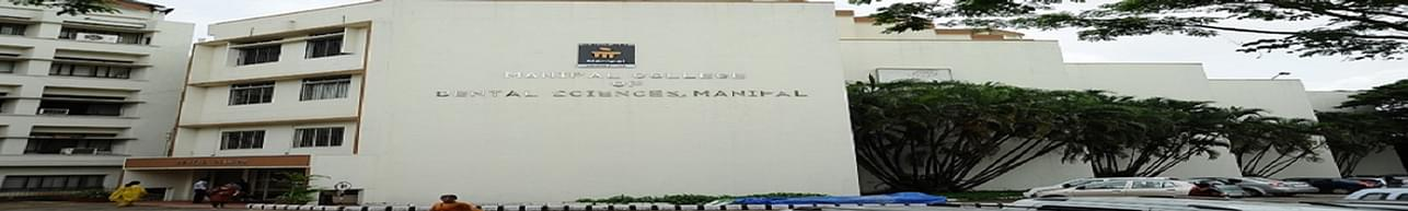 Manipal College of Dental Sciences - [MCODS], Manipal - Course & Fees Details