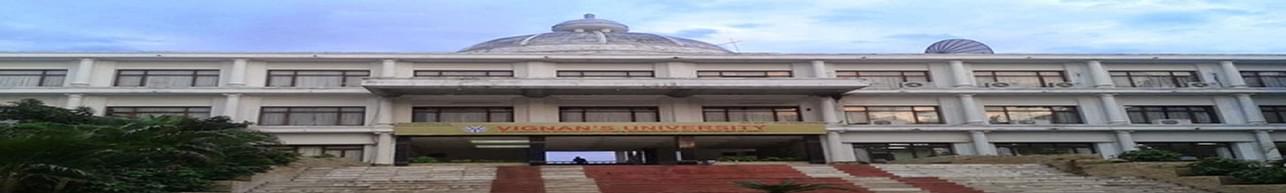 Vignan University, Department of Management Studies- [SMS], Guntur