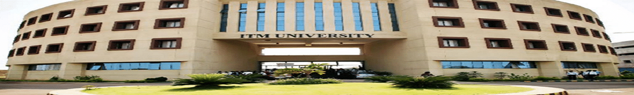 ITM University, Raipur - Reviews
