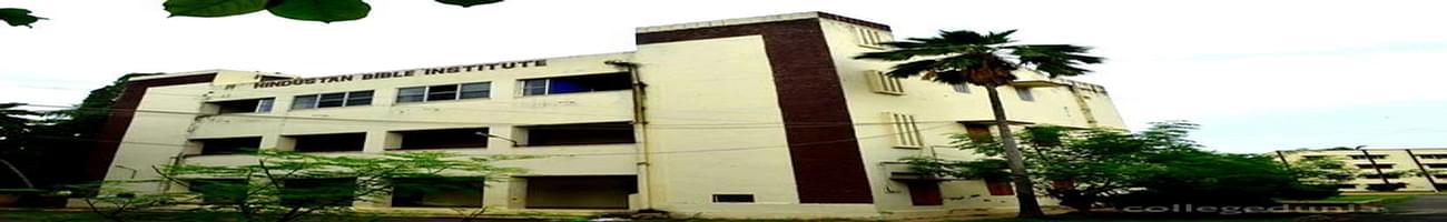 Hindustan Bible Institute - [HBI], Chennai