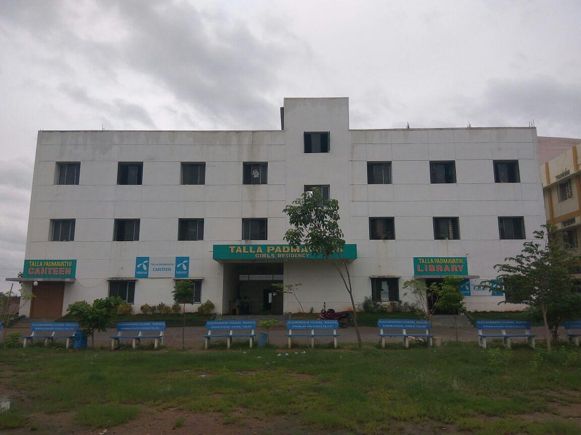Talla Padmavathi College of Pharmacy - [TPCP]