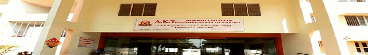 A.K.T. Memorial College of Engineering & Technology, Villupuram