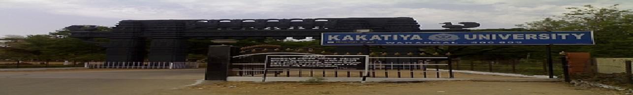 Kakatiya University, School Of Distance Learning And Continuing Education - [SDLCE], Warangal - Admission Details 2019