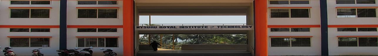 Mysuru Royal Institute of Technology - [MRIT] Lakshmipura, Mysore