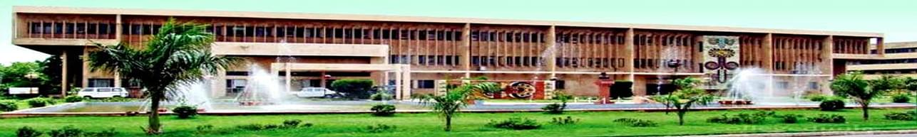 College of Agricultural Engineering and Technology - [CAET], Hisar
