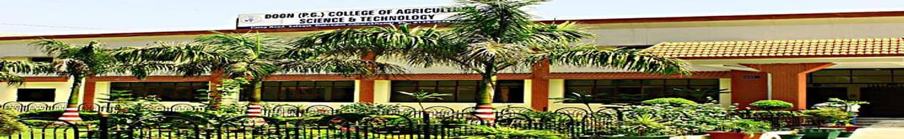 Doon Post Graduate College of Agriculture Science and Technology - [DCAST], Dehradun
