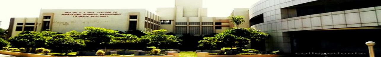 Dr DY  Patil College of Agriculture Business Management, Pune - Admission Details 2020