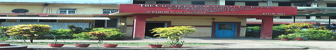 CES College of Arts and Commerce, Salcete - List of Professors and Faculty
