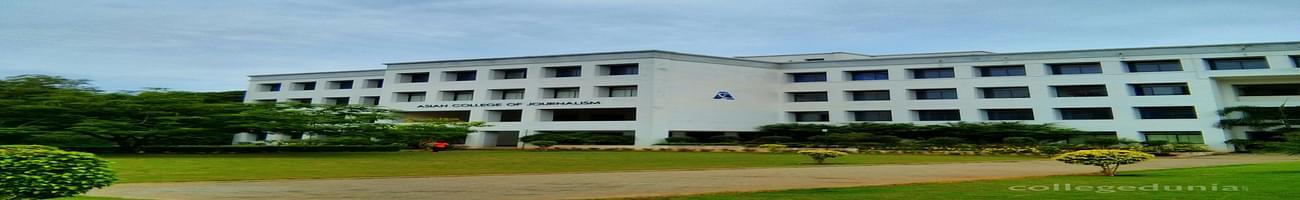 Asian College of Journalism - [ACJ], Chennai