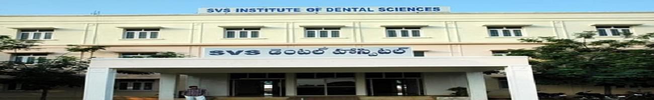 SVS School of Dental Sciences, Mahabub Nagar