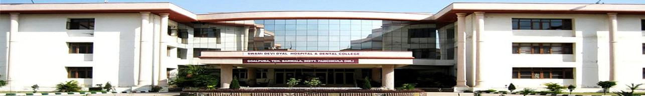 Swami Devi Dyal Hospital and Dental College - [SDDHDC], Panchkula