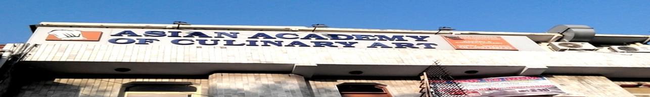 Asian Academy of Cuinary Art, New Delhi