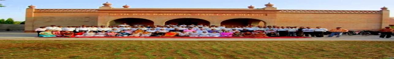 BJS Rampuria Jain Law College, Bikaner - Course & Fees Details