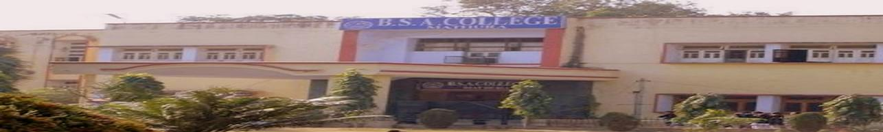 Babu Shivnath Agrawal College - [BSA], Mathura
