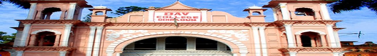 DAV PG College, Dehradun - Course & Fees Details