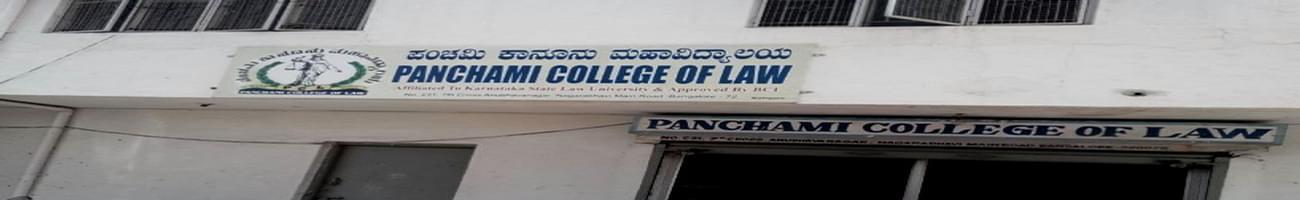 Panchami College of Law, Bangalore