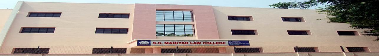 SS Maniyar Law College, Jalgaon