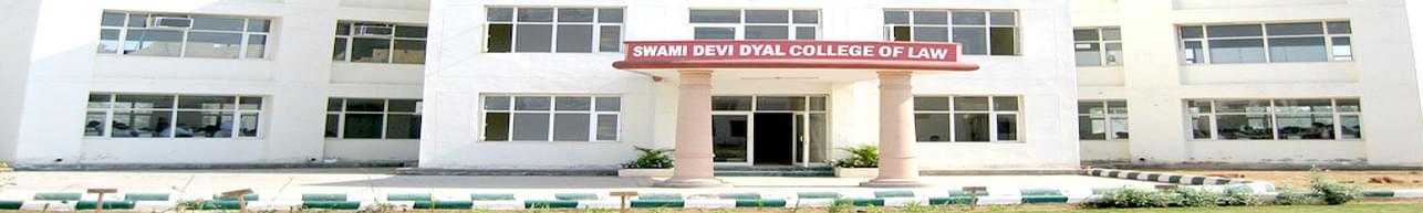 Swami Devi Dyal College of Law - [SDDCL], Panchkula