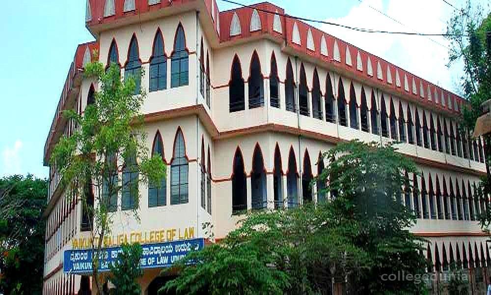 Vaikunta Baliga College of Law - [VBCLAW]