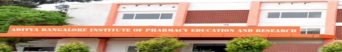 Aditya Bangalore Institute of Pharmacy Education and Research, Bangalore