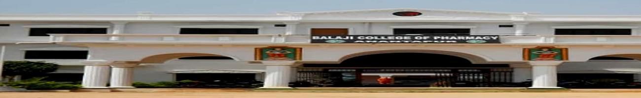 Balaji College of Pharmacy, Ananthapur