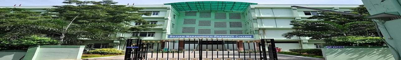 Bojjam Narasimhulu Pharmacy College for Women, Hyderabad