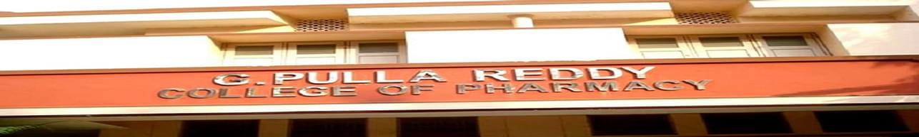 G Pulla Reddy College of Pharmacy - [GPRCP], Hyderabad