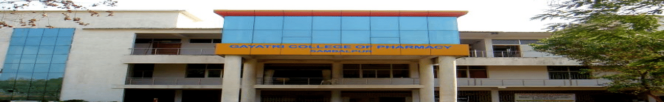 Gayatri  College Of  Pharmacy - [GCP], Sambalpur