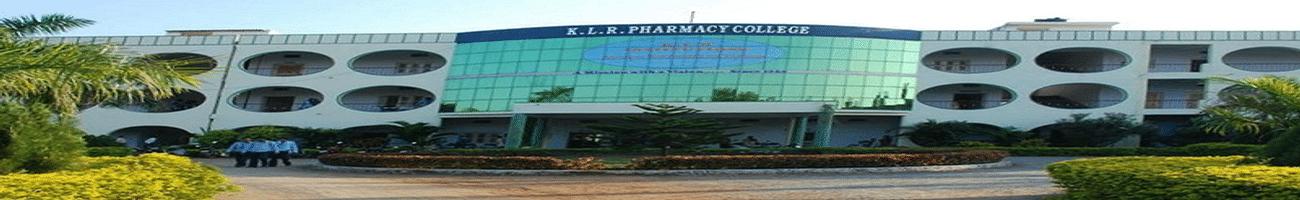 KLR Pharmacy College, Khammam