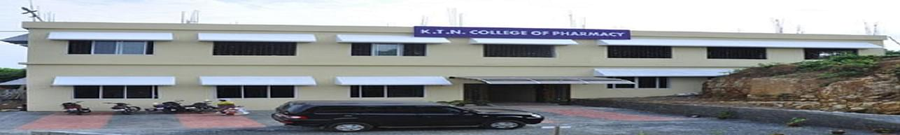 KTN College of pharmacy - [KTNCP], Palakkad