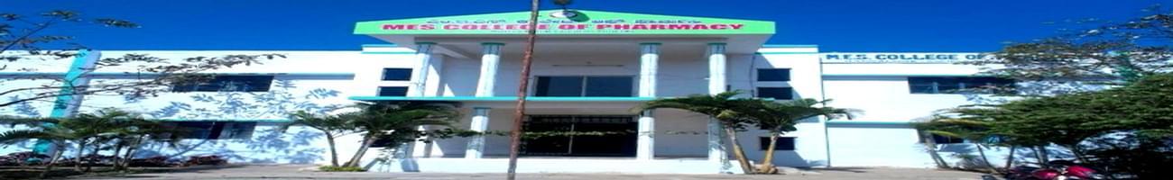 MES College of Pharmacy, Bangalore